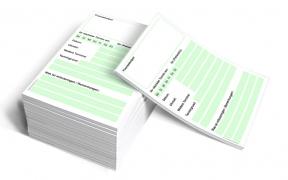 Terminzettel DIN A6 Profi (grün)