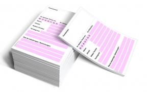 Terminzettel DIN A6 Profi (rosa)