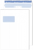 250 Briefkuverts DIN C4 der Spitzenklasse mit Fenster (blanco)
