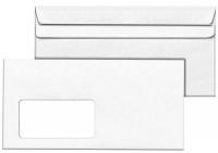 1.000 Briefkuverts mit Fenster STANDARD