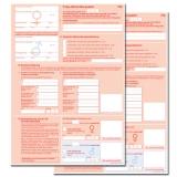 Muster 70A Folgeplan zum Behandlungsplan für Maßnahmen zur künstlichen Befruchtung (100 Stk.)