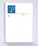Rezeptblock DIN A6, mit Logo Leonardo blau