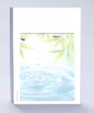 Rezeptblock DIN A6, Hintergrunddruck Wellness Wasser