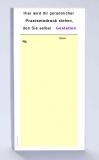 Rezeptblock DIN-lang, 65 Blatt, gelb mit Praxiseindruck
