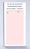 Rezeptblock DIN-lang, 65 Blatt, rosa mit Praxiseindruck