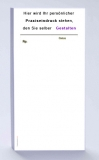 Rezeptblock DIN-lang, 65 Blatt, weiß mit Praxiseindruck