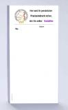 Rezeptblock DIN-lang, 65 Blatt, Logo Tierheilpraktiker, mit Praxiseindruck