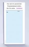 Rezeptblock DIN-lang, 65 Blatt, blau mit Praxiseindruck