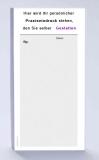 Rezeptblock DIN-lang, 65 Blatt, grau mit Praxiseindruck