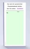 Rezeptblock DIN-lang, 65 Blatt, grün mit Praxiseindruck