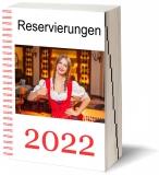 Reservierungsbuch 2022 GastroTimer