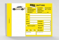 Taxiquittung (blanco) 1.000 Stück