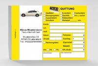Taxiquittung (mit Eindruck) 1.000 Stück
