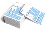 Terminzettel DIN A6 Profi (blau)