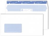 500 Briefkuverts der Spitzenklasse mit Fenster (blanco)