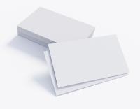 1.000 Visitenkarten blanco für Ihren Praxisstempel